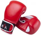 Перчатки боксерские KSA Wolf, 14oz, кожа Red (УТ-00017838)
