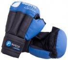 Перчатки для рукопашного боя RUSCO искусственная кожа, размер 12, синие (УТ-00009845)