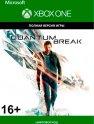 Цифровая версия игры Microsoft Quantum Break (Xbox One)