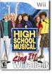 Диск для Wii Nintendo HIGH SCHOOL MUSICAL: SING IT!
