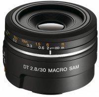 Объектив Sony DT 30MM F/2.8 Macro SAM (SAL-30M28)
