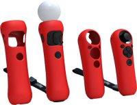 Набор для PS3 Bigben Interactive Move Чехлы силиконовые, цвет в ассортименте