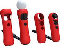 Набор для PS3 Bigben Interactive Move Чехлы силиконовые, цвет в ассортименте фото