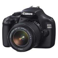 Зеркальный фотоаппарат Canon EOS 1100D kit 18-55 IS Black
