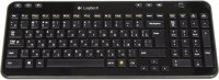 Клавиатура Logitech Wireless Keyboard K360 Black (920-003095)