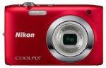 Цифровой фотоаппарат Nikon COOLPIX S2600 Red