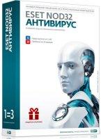 Антивирус ESET NOD32 + Bonus 3пк/1г