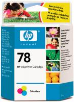 Картридж HP 78 Tri-colour (C6578D) фото