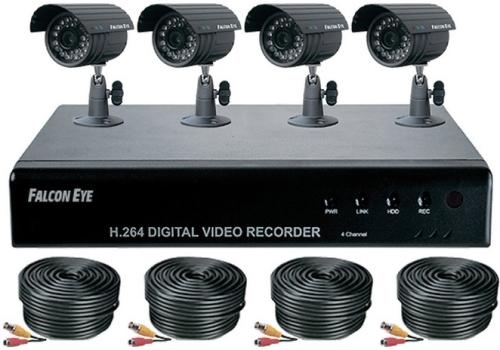 Комплект видеонаблюдения falcon просмотр через интернет