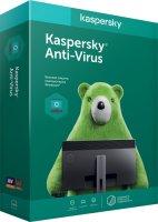 Антивирус Kaspersky Anti-Virus 2ПК/1Г BOX