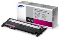 Лазерный картридж Samsung CLT-M406S Magenta