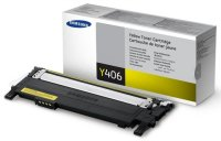 Лазерный картридж Samsung CLT-Y406S Yellow