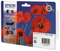 Комплект картриджей Epson 17 MultiPack C13T17064A10 фото