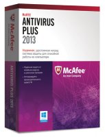 Антивирус McAfee ANTIVIRUS PLUS 2013 3ПК/1Г