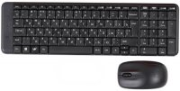 Комплект клавиатура+мышь Logitech Wireless Combo MK220 Black (920-003169)
