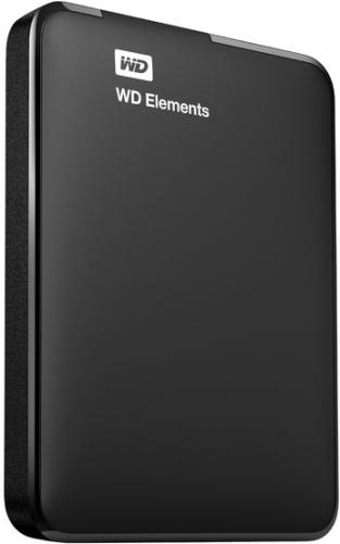 Купить Внешний жесткий диск Western Digital, Elements Portable 1Tb WDBUZG0010BBK