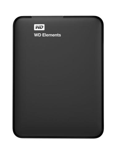 Купить Внешний жесткий диск Western Digital, Elements Portable 500GB WDBUZG5000ABK-EESN