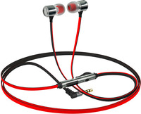 Наушники с микрофоном InterStep BWhite Metal Red (IS-HF-BW35RDMET-000B203)