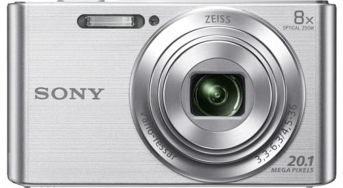 Купить Цифровой фотоаппарат Sony, Cyber-shot DSC-W830 Silver