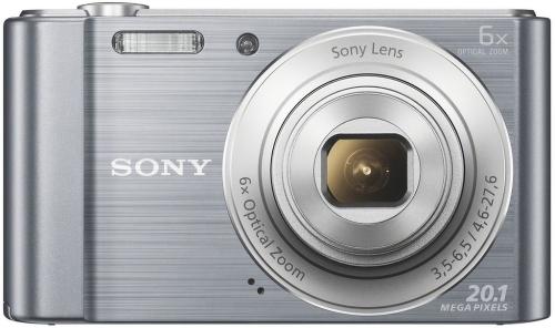 Купить Цифровой фотоаппарат Sony, Cyber-shot DSC-W810 Silver