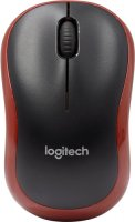 Мышь Logitech Wireless Mouse M185 Red