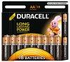 Батарейка Duracell LR6-18BL Basic (18 шт.)