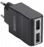 Сетевое зарядное устройство InterStep 2USB ток 2000 мА (IS-TC-2USB0002K-000B201)