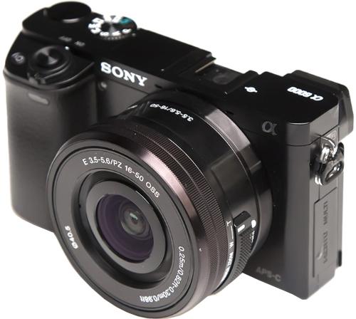 Купить Цифровой фотоаппарат со сменной оптикой Sony, Alpha A6000 ILCE-6000LB Black