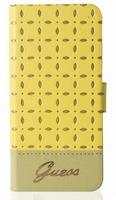 Чехол GUESS для Apple iPhone 5S Gianina Booktype case Yellow (GUFLBKP5PEY)