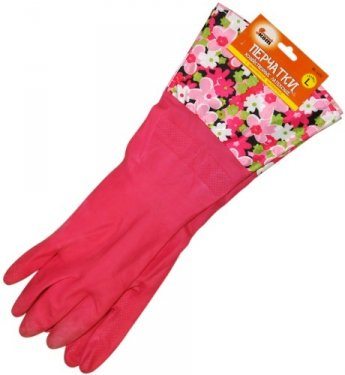 Рыжий кот и перчатка