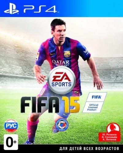 Купить Игра для PS4 EA, FIFA 15