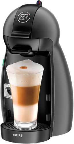 KRUPS KP100B10 DOLCE GUSTO PICCOLO ANTRACITE фото