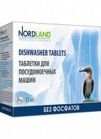 Таблетки Nordland для посудомоечной машины 32 шт. х 20 гр.