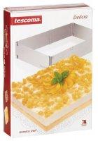 Форма для торта Tescoma Delicia 623382 регулируемая прямоугольная