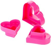 Двусторонние формочки Tescoma Delicia 630862 Сердечки 6 размеров
