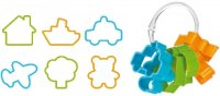 Формочки Tescoma Delicia Kids для мальчиков 6 шт. 630921