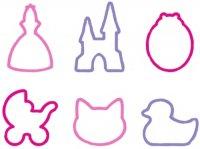 Формочки Tescoma Delicia Kids для девочек 6 шт. 630920
