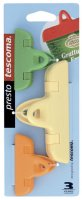 Клипса для пакетов Tescoma Presto 420762 11 см./7 см., 3 шт.