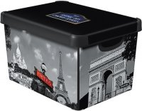 Коробка декоративная Curver Deco's Stockholm S 04710-P35-00, Paris (205491)