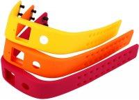 Комплект браслетов Runtastic RUNORST1 для фитнес-трекера Orbit, Orange/Yellow/Pink