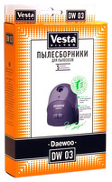 Комплект пылесборников Vesta DW03 для пылесосов Daewoo