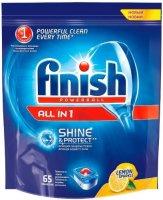 Таблетки для посудомоечной машины Finish All in 1 Лимон 65шт. (8169192)