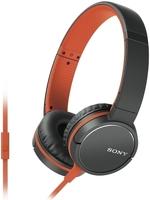 Наушники c микрофоном Sony MDR-ZX660AP Orange