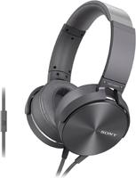 Наушники с микрофоном Sony Extra Bass MDR-XB950APH Grey