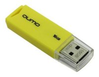 USB-флешка Qumo Tropic 16Gb Yellow (QM16GUD-TRP-YELLOW)