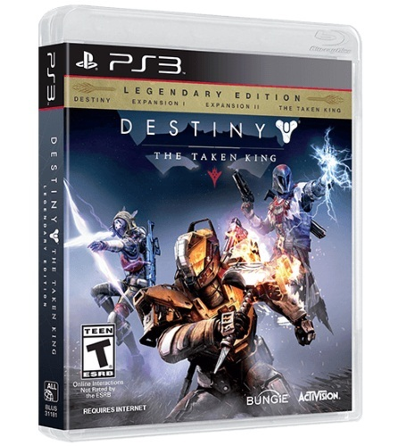 ACTIVISION DESTINY: THE TAKEN KING. LEGENDARY EDITION