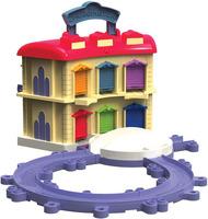 Купить Игровой набор CHUGGINGTON, Двухэтажное депо (LC54217)