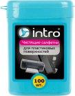 Чистящие салфетки для поверхностей Intro V300440, 100 шт.