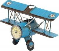 Подставка для ручек Platinum Часы-Аэроплан (1404B-1307)