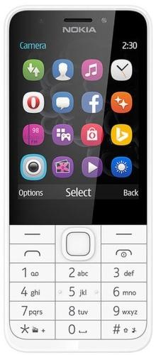 Купить Мобильный телефон Nokia, 230 DS White/Silver